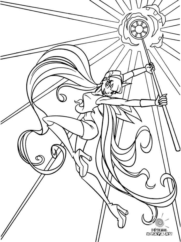 Dibujos para Colorear Winx Club