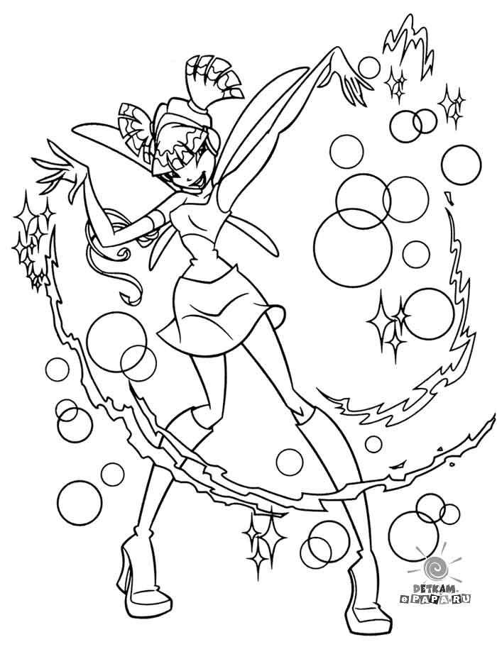 Winx Club Dibujos para colorear Winx Club
