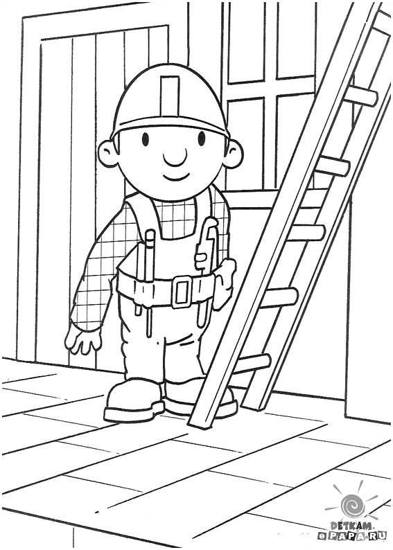 Dibujos para Colorear Bob el Constructor