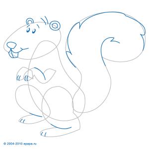Cómo Dibujar Una Ardilla Cómo Dibujar Animales Aprender A Dibujar
